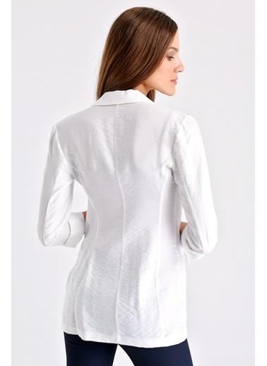 Jument Ceket Beyaz